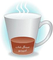 سینگل شات قهوه اسپرسو