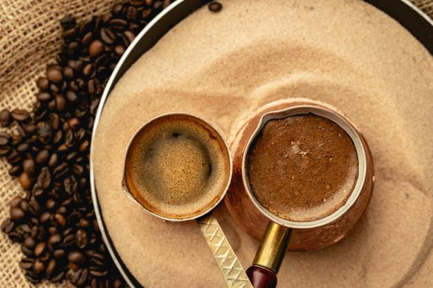 شن مخصوص قهوه ترک شنی