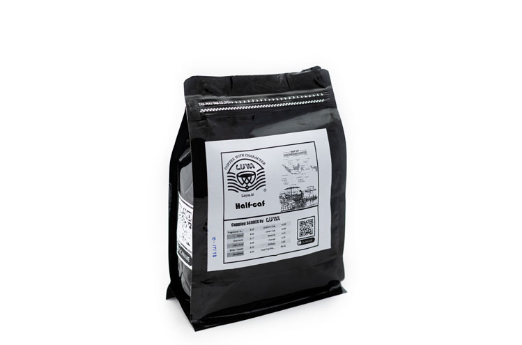 قهوه نیم کافئین