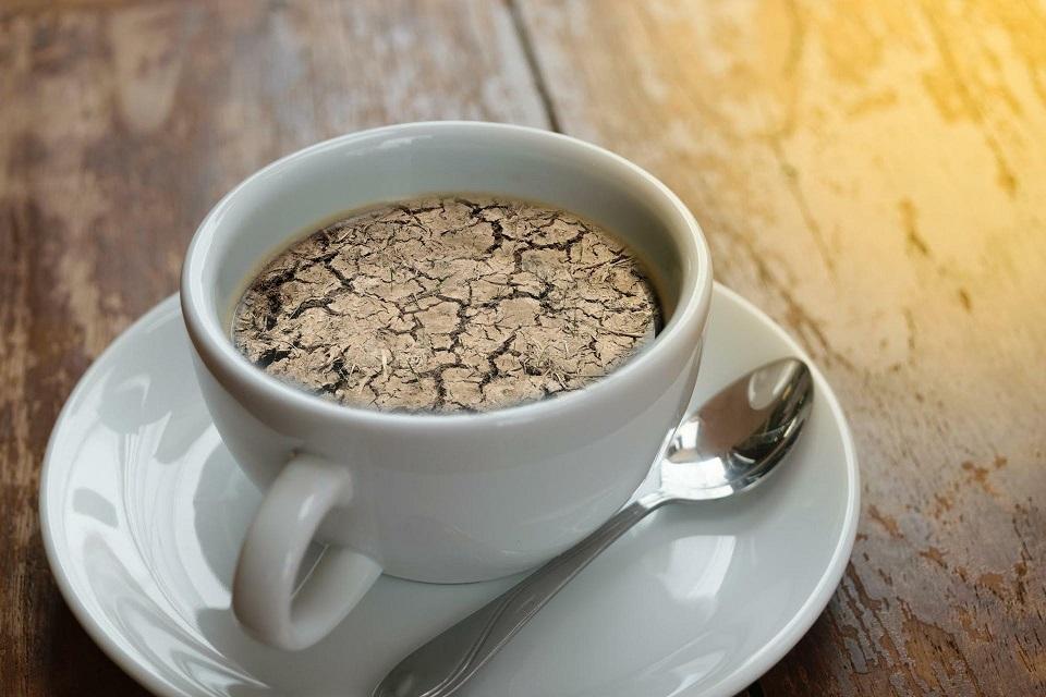 قهوه و کم آبی بدن